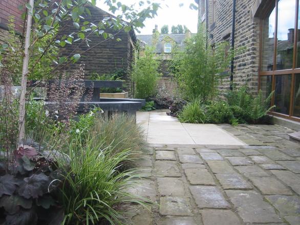 Contemporary Courtyard Garden, Morley, Leeds