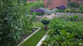 A Sloping Garden in Roundhay, Leeds