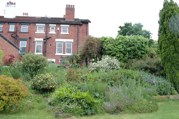 The Garden Before Earthworks Garden Design