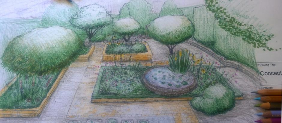 Focus on Garden Design Drawings