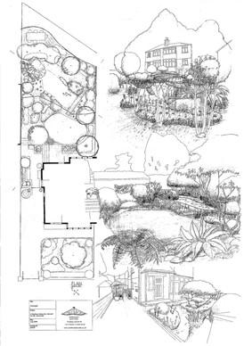 The Garden Design Concept Plan