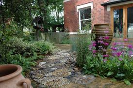 Courtyard Garden for Wildlife, Leeds