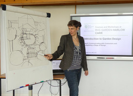 My Teaching Work at RHS Garden Harlow Carr, Harrogate
