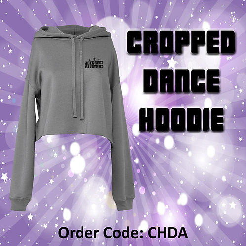 Dance Cropped Hoodie