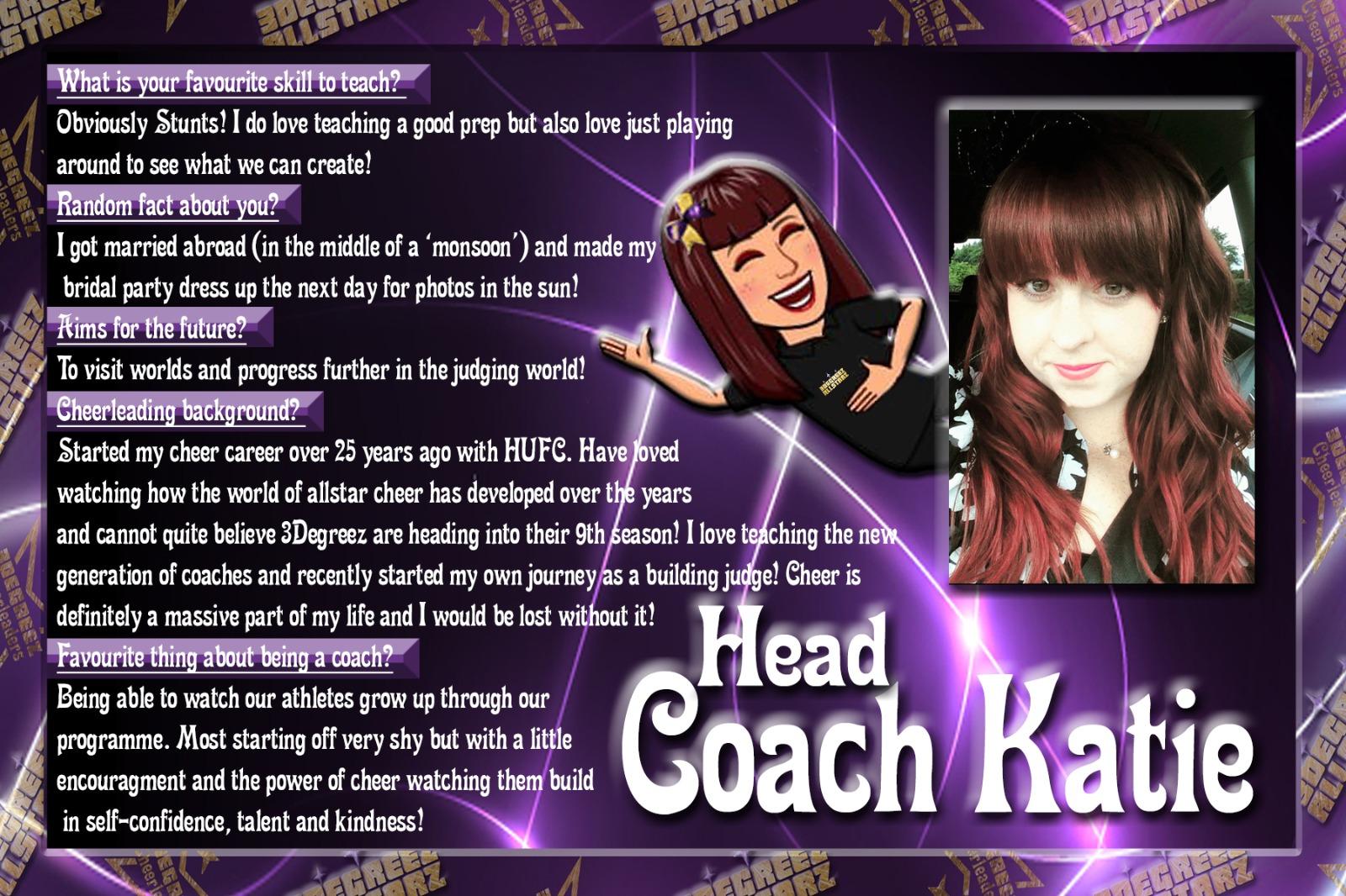 Head Coach Katie