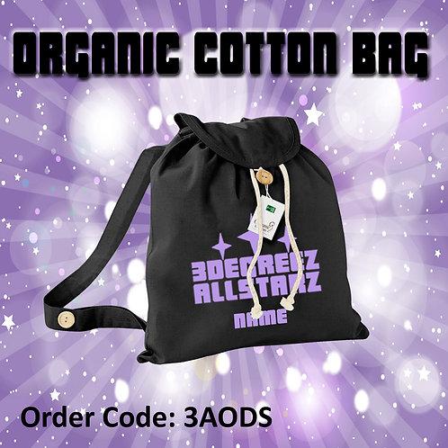 Personalised Organic Cotton Bag