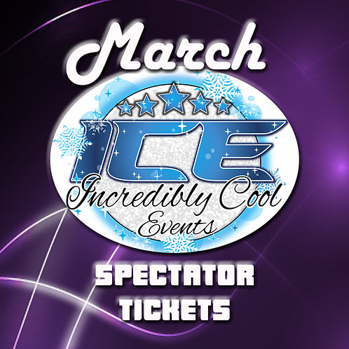 ADULT (13+) ICE March Ticket Reservation