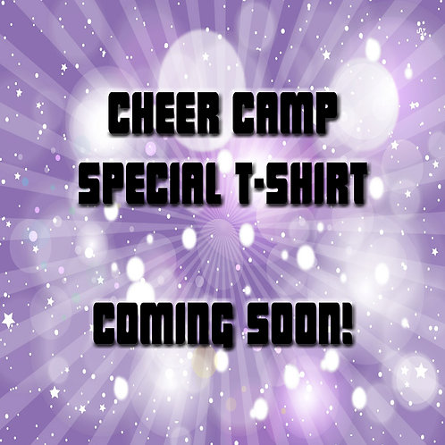 Cheer Camp T-Shirt (Adult)
