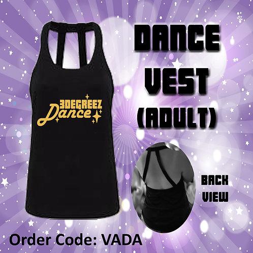 Dance Vest (Ladies)