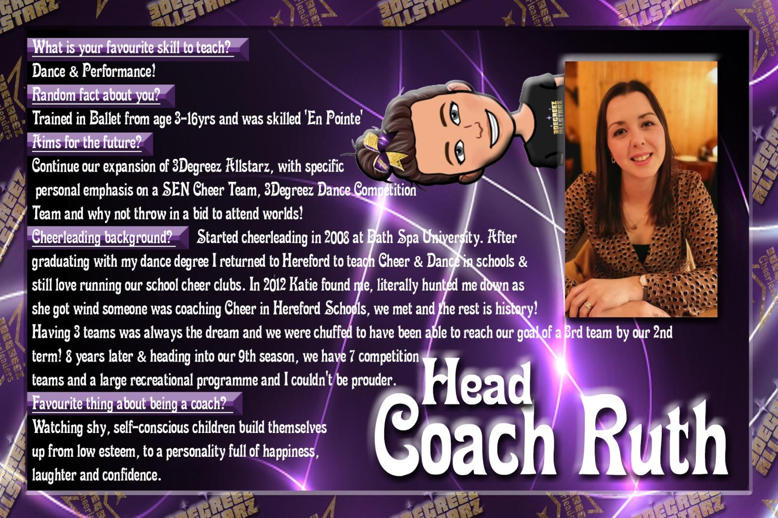Head Coach Ruth