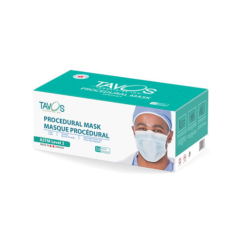 Canadian ASTM Level 3 Face Masks - 50 pcs