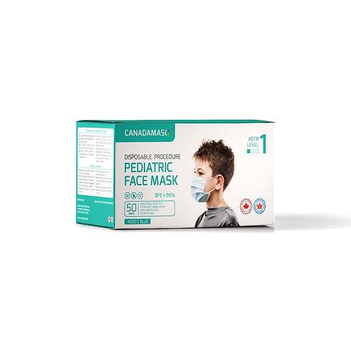Canada MasQ ASTM Level 1 Pediatric Face Mask - 50 pcs