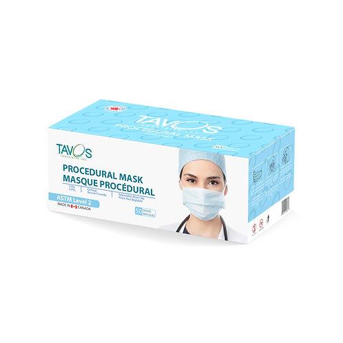 Canadian ASTM Level 2 Face Masks - 50 pcs