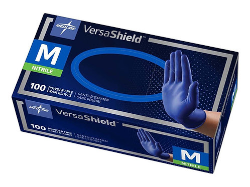 VersaShield Powder-Free Nitrile Exam Gloves (Case of 1000)