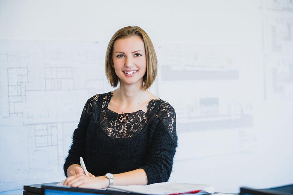 Businessfoto Architektin