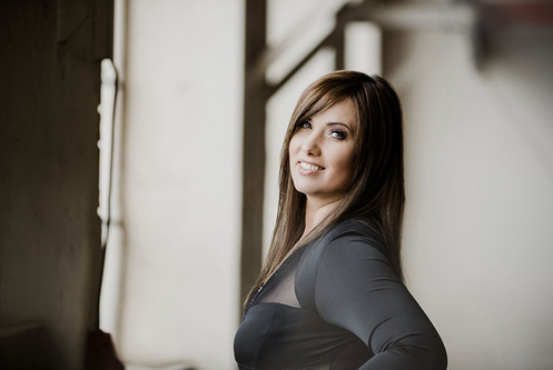 Businessfoto Sängerin Misha Singer