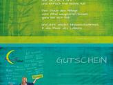 Gutschein - Din lang - 2 seitig