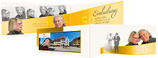 klick4 | Goldene Hochzeit Einladungskarte