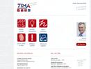 Homepage ZIMA