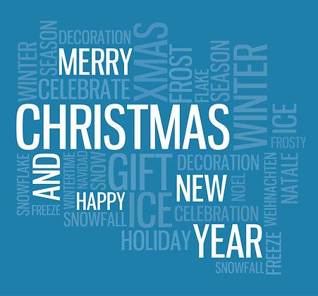 Klappkarte - Christmas