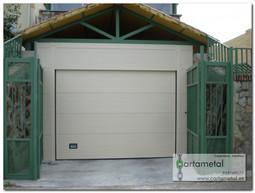 Puertas automaticas blanca