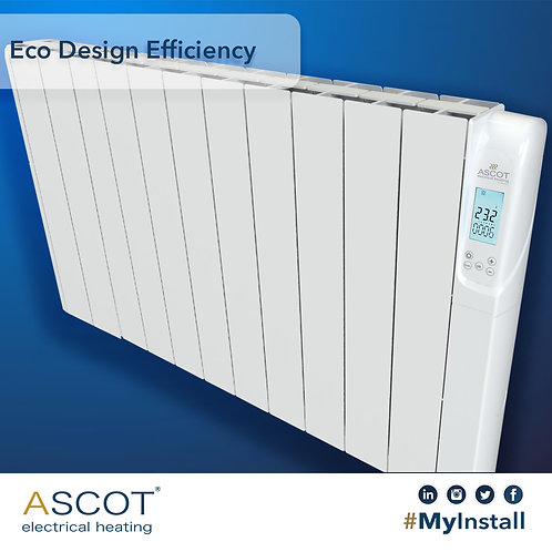 ASCOT 1800W Electric Radiator