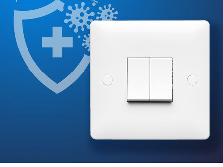 Stay SAFE. VERSO Wiring Accessories help to kill 99% of bacteria