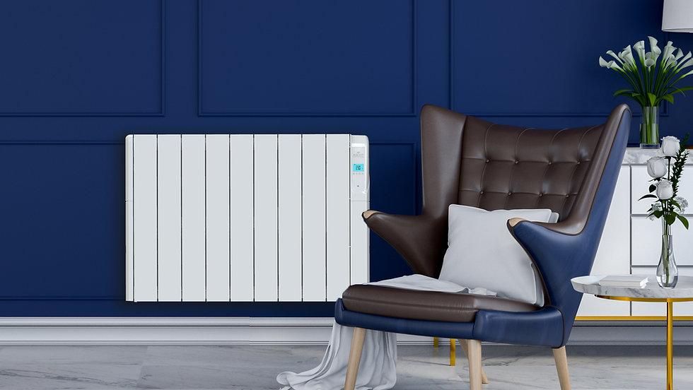 White heater on blue wall.jpg