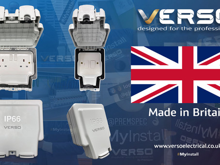 Why VERSO IP66 Products are made in the UK