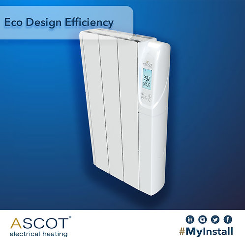 ASCOT 500W Electric Radiator