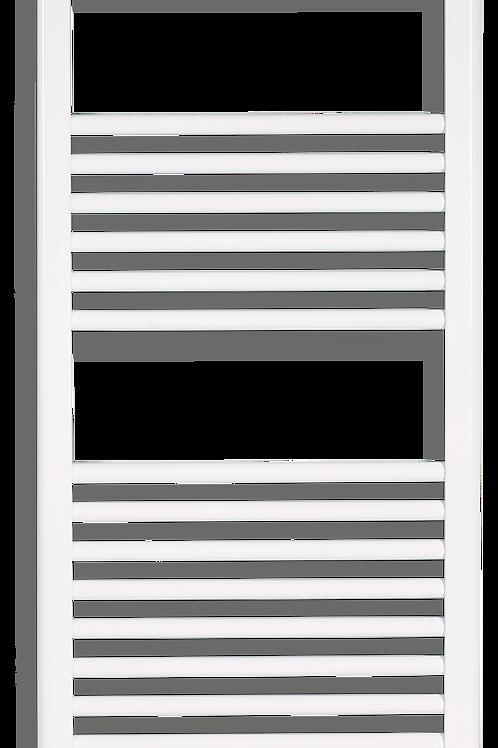 ASCOT WHITE FLUID TOWEL RAIL