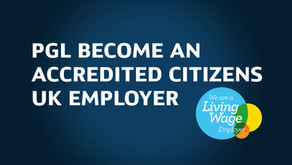 PGL become an Accredited Citizens UK Employer