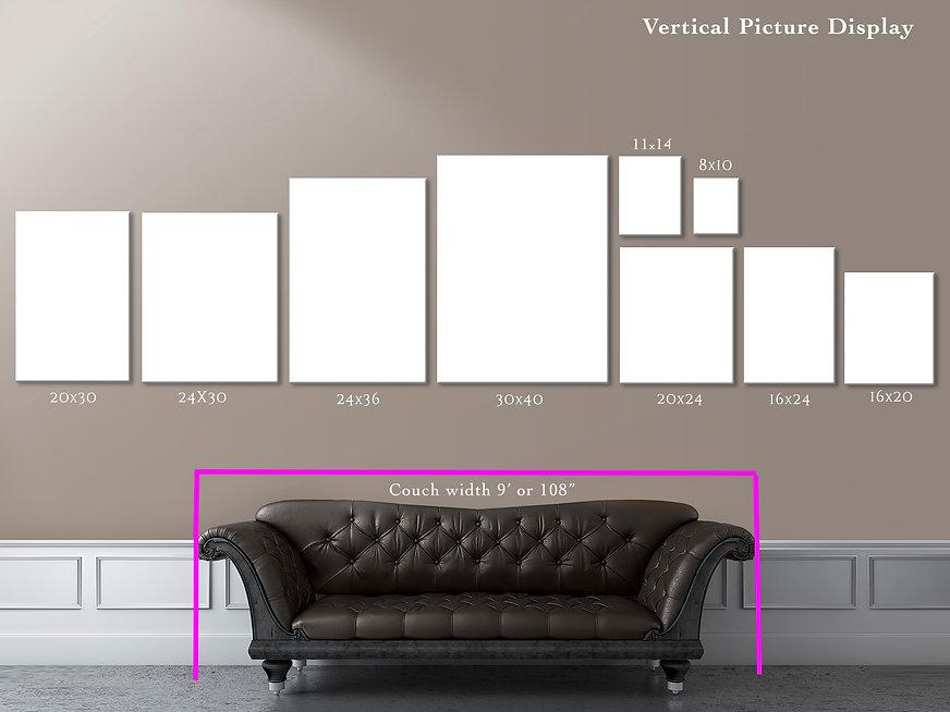 Vertical Picture Size Comparison Chart..
