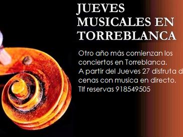 JUEVES MUSICALES EN TORREBLANCA