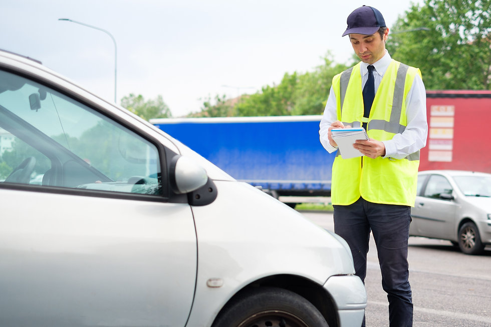 parking management and enforcement services conducted by security guard group