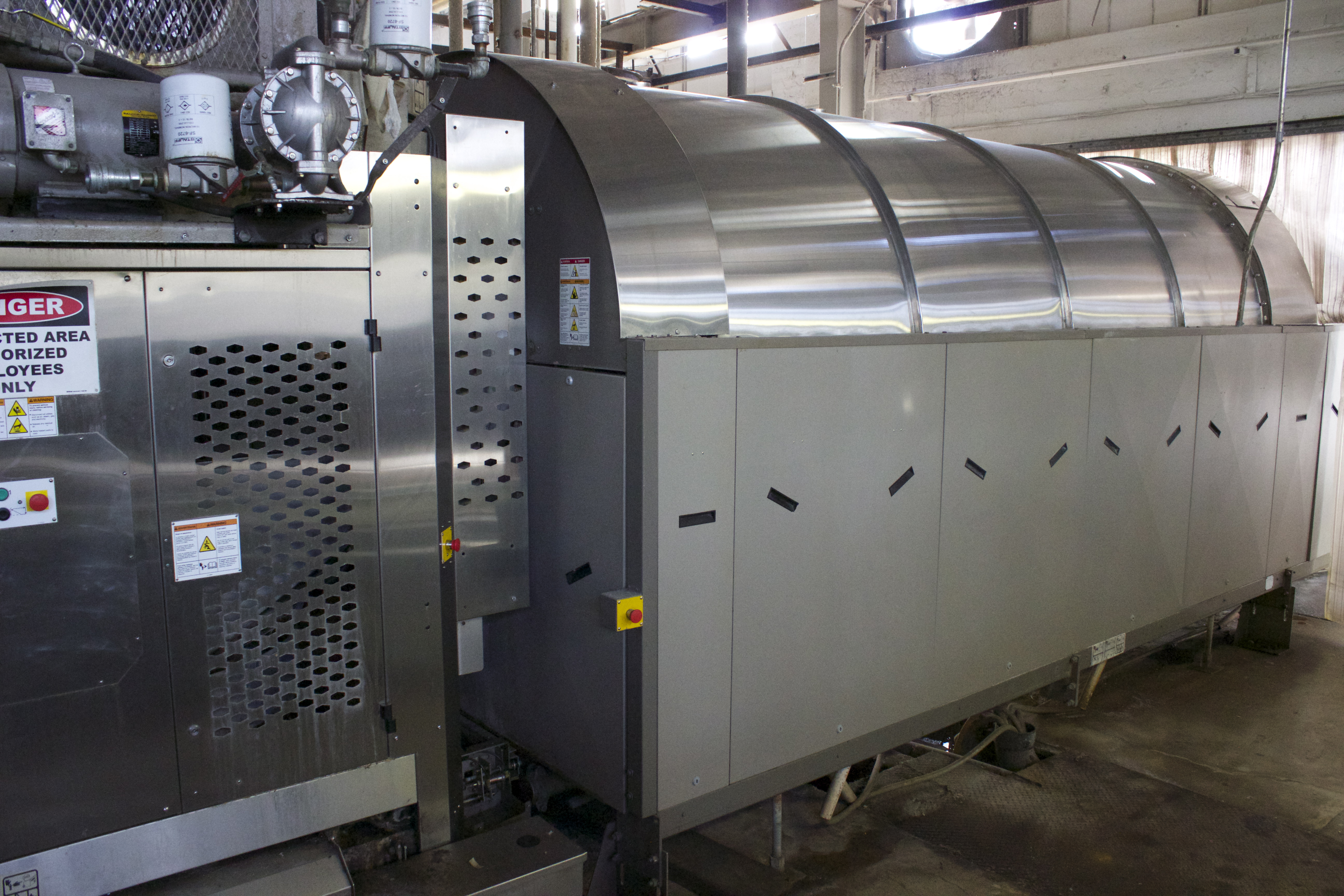 Milnor Pulse-Flow Tunnel Washer