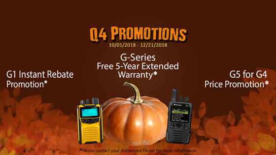 Fall 2018 Unication Promotions!