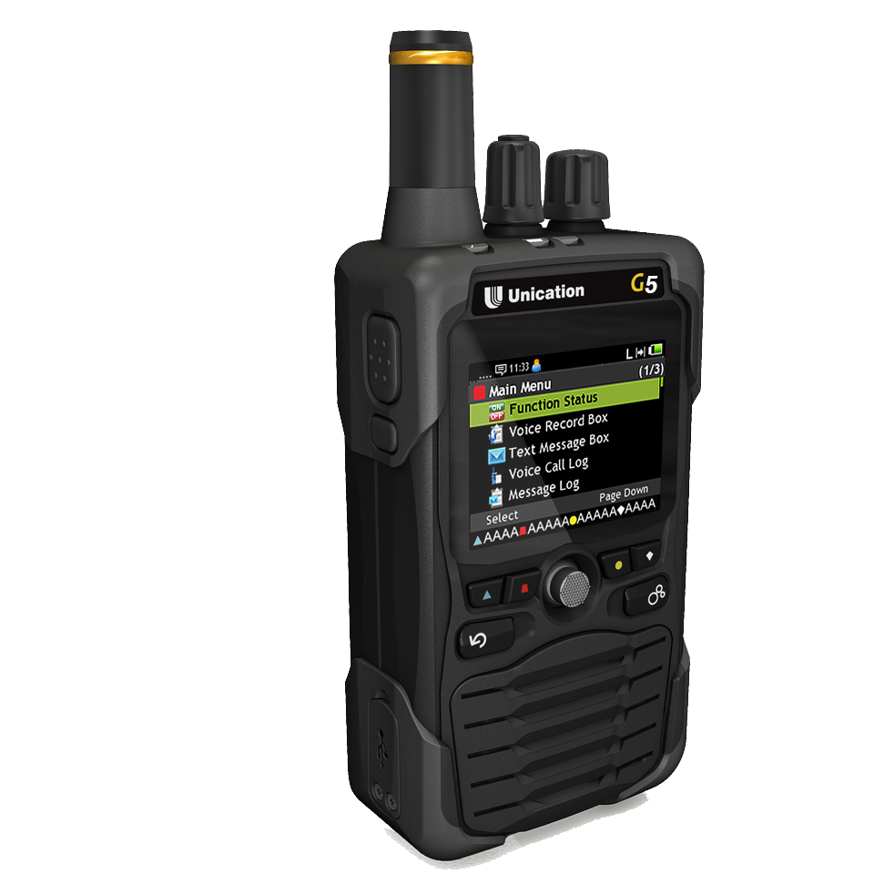 G5 Dual Band P25 Voice Pager- Side View HIGHRES.png