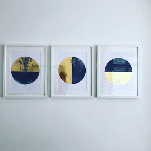 Luna Spot Original Trilogy Gold - White Framed