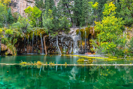 Beautiful Fall Hike at Hanging Lake in C