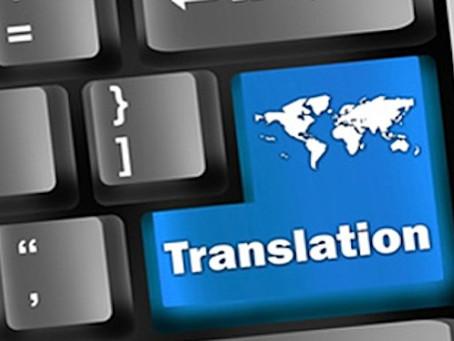 Good (fruitful) translation news