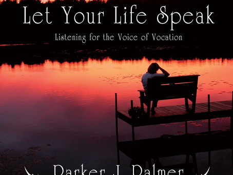 """BOOK to read: """"Let your life speak"""""""