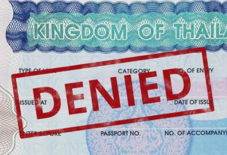 Thai Visa denied. Hello SA after 12 years.