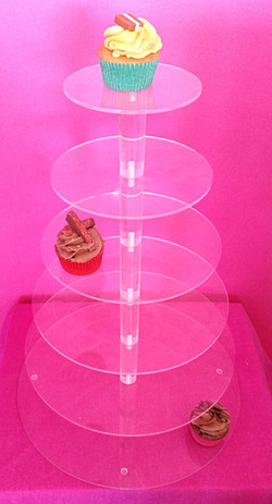 6 Tiered Plastic Stand