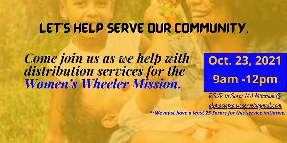 Community Service Event!