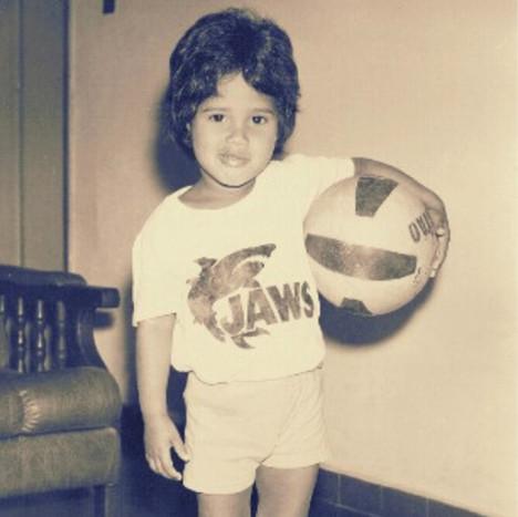 My earliest days.