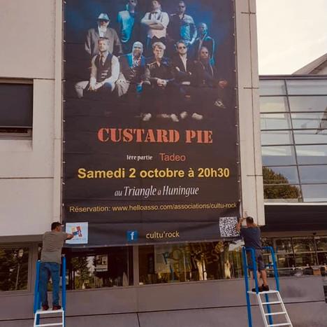 HUNINGUE - FRANCE CUSTARD PIE LIVE