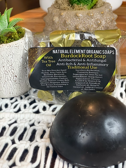 Organic Burdock Root Soap