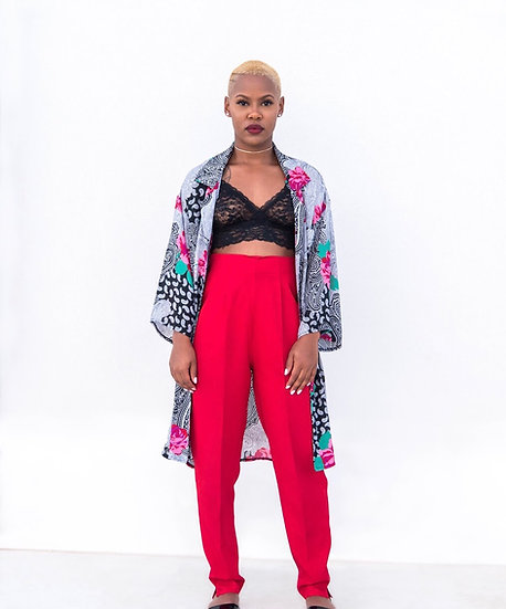 Paisley Printed Kimono