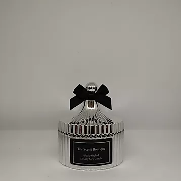 The Scent Boutique, Silver Vintage Candle